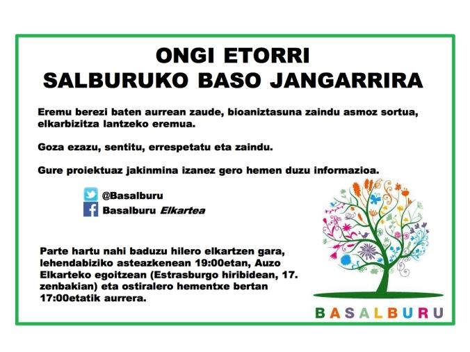 Basalburu | Bosque Comestible de Salburua. Salburuako Baso Jangarria ...